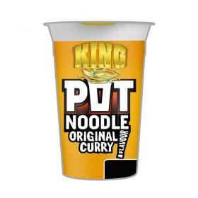 King Pot Noodle Original Curry Flavour
