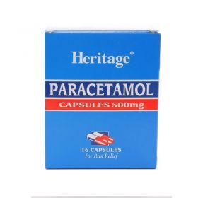 Heritage Paracetamol (16 Capsules) 500mg