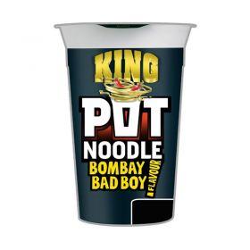 King Pot Noodle Bombay Bad Boy Flavour
