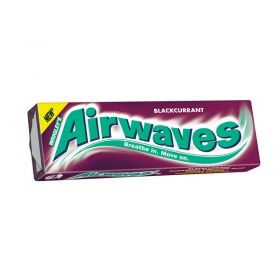 Wrigley's Airwaves Blackcurrant Chewing Gum 5 Packets