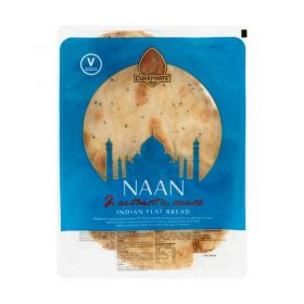 Currymate Plain Naan,2 Pieces