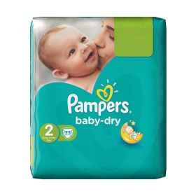 Pampers Baby-Dry Midi Size 2, 33 Nappies