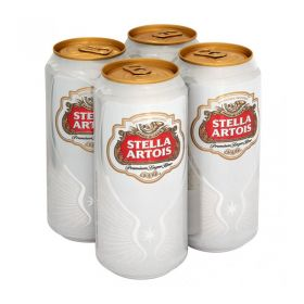 Stella Artois Premium Lager Beer 4x440ml