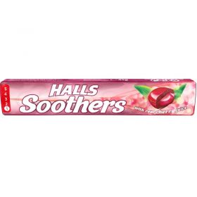 Halls Soothers Cherry Lozenges 45g