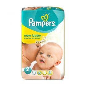 Pampers New Baby Size 2, 31 Nappies