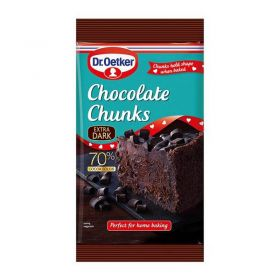 Dr. Oetker Extra Dark Chocolate 100g