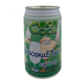 Cool Young Coconut Juice With Pulp 310ml