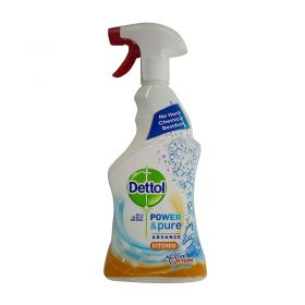 Dettol Power & Pure Advance Kitchen With Active Oxygen 750ml