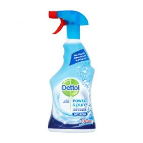 Dettol Power & Pure Bathroom With Active Oxygen 750ml