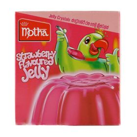 Motha Strawberry Flavoured Jelly 100g