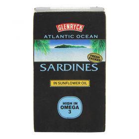 Glenryck Sardines In Sunflower Oil 120g