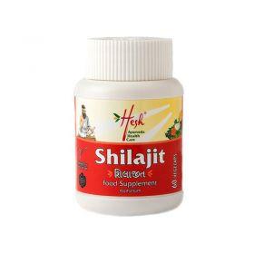 Hesh Organic Shilajit Asphaltum Tablets 250mg 60 Capsules