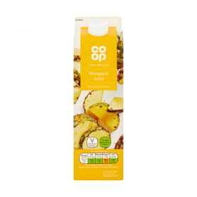Co Op Pure Pineapple Juice 1 Litre