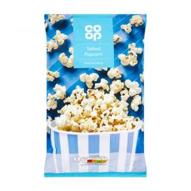 Co Op Salted Popcorn 100g