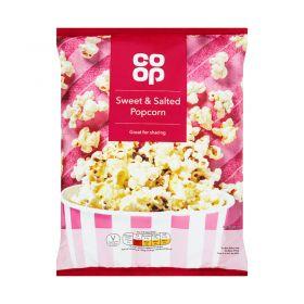 Co Op Sweet & Salted Popcorn 100g