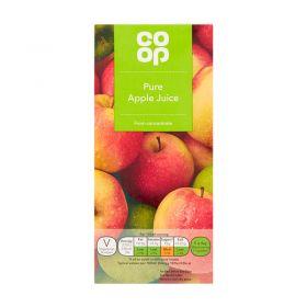 Co Op Pure Apple Juice 1 Litre