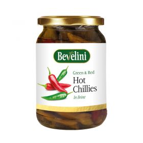 Bevelini Green & Red Hot Chillies 280g