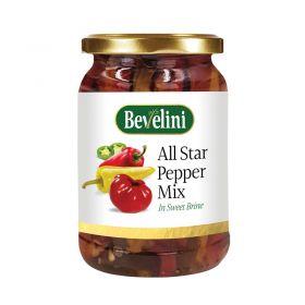 Bevelini All Star Pepper Mix In Sweet Brine
