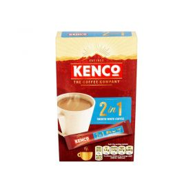 Kenco 2 In 1 Instant Smooth White Coffee 14g