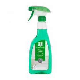 Co Op Window Cleaner With Vinegar 500ml