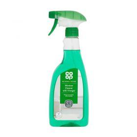 Co Op Window Cleaner With Vinegar 500ml