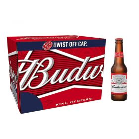 Budweiser Premium Lager Beer 12x300ml