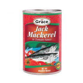 Grace Jack Mackerel In Tomato Sauce 425g