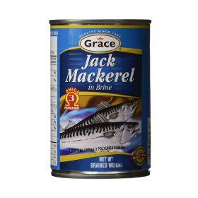 Grace Jack Mackerel In Brine 425g
