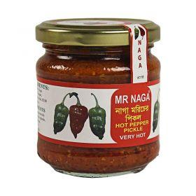 Mr Naga Hot Pepper Pickle 190g