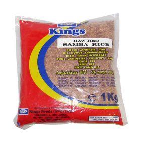Kings Raw Red Samba Rice 1 Kg