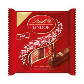 Lindt Lindor Milk Chocolate Bars 4 Pack