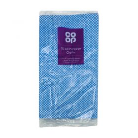 Co Op All Purpose Cloths Pack Of 10