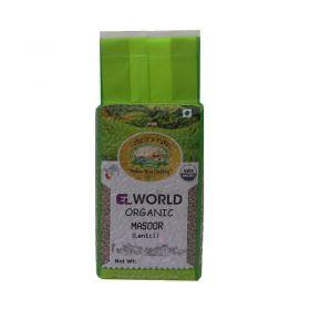 Organic Masur Whole 500g