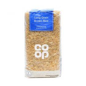 Co Op Organic Brown Rice 500g