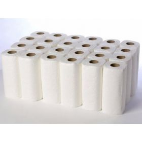 Economy White Kitchen Tissue Rolls