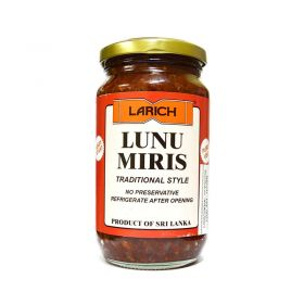 Larich Lunu Miris- Chilli & Onion Sambol Mix, Paste 350g