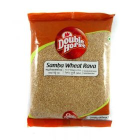 Double Horse Samba Wheat Rava 1 Kg