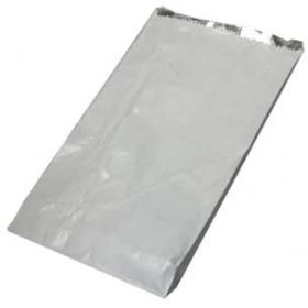 "500 x Hot Food White foil lined bag 7"" x 9"" x 12"" (Hot Chicken, Nan Bread & Ribs)"