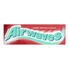 Wrigley's Airwaves Cherry Menthol Flavour Sugarfree Chewing Gum 10 Pieces
