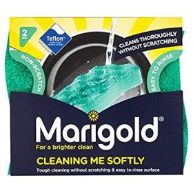 Marigold Cleaning Me Softy, Pack of 2 Non-Scratch Sponges