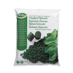 Ardo Frozen Chopped Spinach 1kg