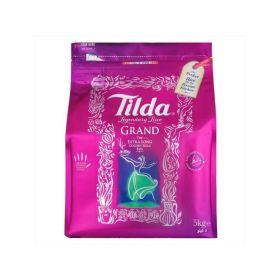 Tilda Grand Extra Long Sella Basmati Rice 5KG