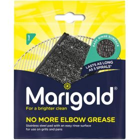 Marigold Stainless Steel Scrubbing Pad, Easy Rinse