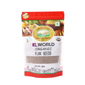 El World Organic Flaxseed 250G