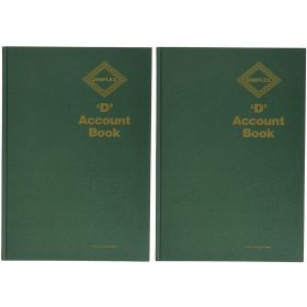 Simplex D Accounts Book - Green X 2 free shipping