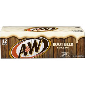A&W Root Beer Cans 355ml(Pack of 12)