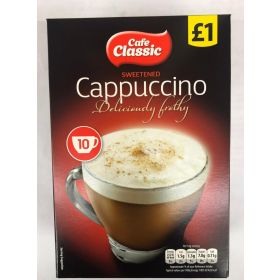 Cafe Classic Sweetened Cappuccino 140g