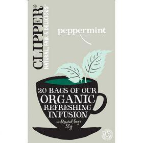 Clipper Pepermint Orgainc Tea 20 Tea Bags