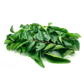 Fresh Green Leaves, Curry veppailai Approx 15G leaf