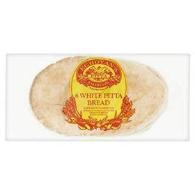 Eghoyan's Large White Pitta Bread 6 Pieces
